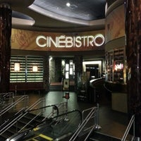 Photo taken at CinéBistro at Peninsula Town Center by Timothy P. on 8/6/2012