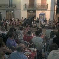 Photo taken at plaza santa bárbara by Jose Enrique C. on 8/5/2012