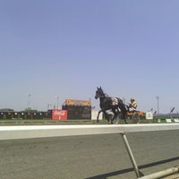 Photo taken at Meadowlands Racing & Entertainment by Kirsi B. on 8/4/2012