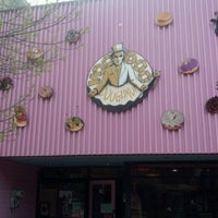 Photo taken at Voodoo Doughnut Tres by Roger L. on 4/25/2012