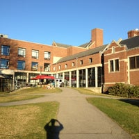 Photo taken at Clark University- Higgins University Center by Collegocity C. on 3/21/2012