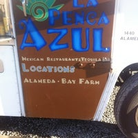 Photo taken at La Penca Azul Taco Truck by Mike M. on 8/3/2012