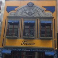 Photo taken at Ferreira Café by Rodrigo L. on 3/13/2012