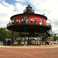 Photo taken at Seven Foot Knoll Lighthouse by F I. on 6/14/2012