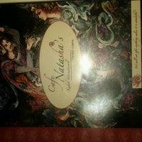 Photo taken at Cafe Natasha's by Jenna W. on 2/11/2012
