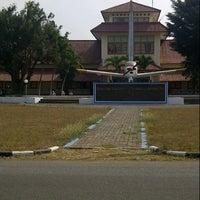 Photo taken at Sekolah Tinggi Penerbangan Indonesia (STPI) by kuncoro p. on 8/31/2012