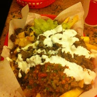 Photo taken at La Victoria Taqueria by Mike Y. on 7/18/2012