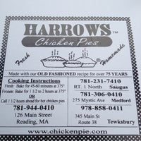 Photo taken at Harrows Chicken Pies by Erin M. on 5/3/2012