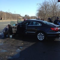 Photo taken at Bellmore Car Wash by Scott Y. on 2/18/2012