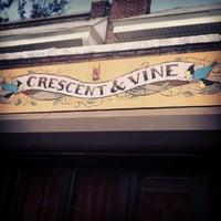 Photo taken at Crescent & Vine by Stephanie V. on 8/26/2012