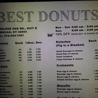 Photo taken at Best Doughnuts by Jimmy P. on 2/10/2012