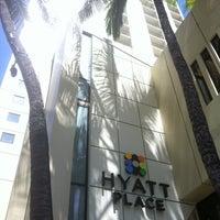 Photo taken at Hyatt Place Waikiki Beach by @MiwaOgletree on 4/12/2012