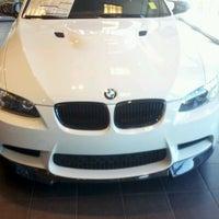 Photo taken at Prestige BMW by Daniel C. on 6/27/2012