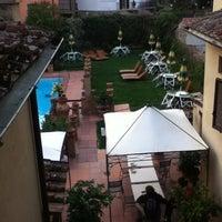 Photo taken at Albergo Del Chianti by Carlos L. on 4/6/2012