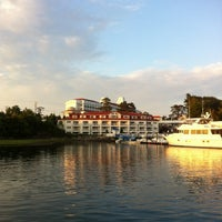 Photo taken at Wentworth by the Sea, A Marriott Hotel & Spa by Billy H. on 8/13/2012
