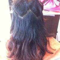 Photo taken at U Sense Hair Studio by E A. on 8/21/2012
