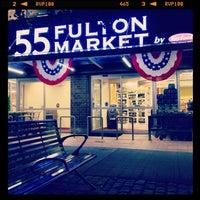 Photo taken at 55 Fulton Market by Jason H. on 8/28/2012