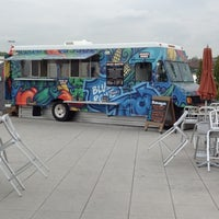 Photo taken at Blue Route Taco Truck by Kai C. on 4/26/2012