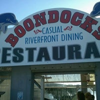 Photo taken at Boondocks Restaurant by Greg L. on 3/26/2012