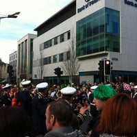 Photo taken at O'Connell Street by Dorothy Q. on 3/17/2012