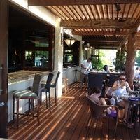 Photo taken at La Laguna Restaurant & Lounge by Karla V. on 8/2/2012