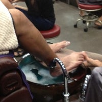 Photo taken at Nails L'mour by Sheila M. on 8/30/2012