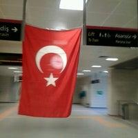 Photo taken at Kozyatağı Metro İstasyonu by Ahmet Edip T. on 8/30/2012