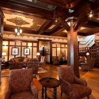 Photo taken at Sacajawea Hotel by Sam A. on 4/14/2012