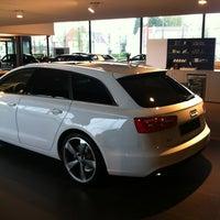 Photo taken at Volkswagen - garage Delbar by Jules V. on 5/4/2012