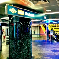 Photo taken at Orchard MRT Station (NS22) by Pitt C. on 4/13/2012