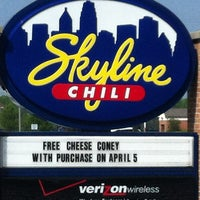 Photo taken at Skyline Chili by Bruce H. on 4/4/2012