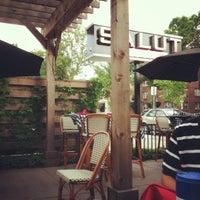 Photo taken at Salut Bar Americain by Justin on 5/28/2012