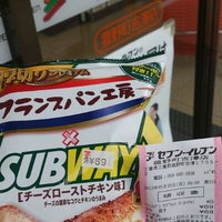Photo taken at 7-Eleven by つじやん 1. on 5/19/2012