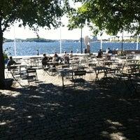 Photo taken at Café Riddarholmen by Johanna on 9/3/2012