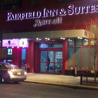 Photo taken at Fairfield Inn & Suites by Marriott New York Manhattan/Times Square by Adrian M. on 2/11/2012