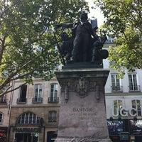Photo taken at Métro Odéon [4,10] by Jessica H. on 8/19/2012