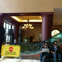 Photo taken at Crowne Plaza St. Louis - Downtown by Mike A. on 4/25/2012