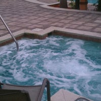 Photo taken at The Pointe Jacuzzi by Lawrence S. on 4/21/2012