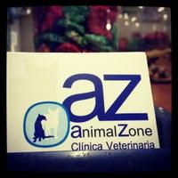 Photo taken at AnimalZone Clinica veterinaria by Leonardo p. on 7/27/2012