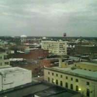 Photo taken at Marriott Winston-Salem by Chad D. on 3/8/2012