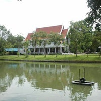 Photo taken at Wat Nyanavesakavan by oYo Y. on 8/4/2012