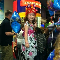 Photo taken at Chuck E. Cheese's by Greg A. on 3/3/2012