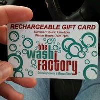 Photo taken at The Wash Factory Car Wash by ÇħËℓŞҽḀ♕ on 5/4/2012