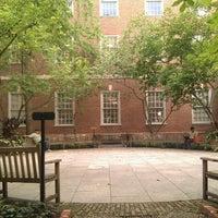 Photo taken at NYU Law | Vanderbilt Hall by Ilya B. on 8/12/2012