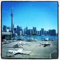 Photo taken at Billy Bishop Toronto City Airport (YTZ) by Renz N. on 7/25/2012