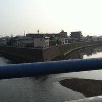 6/1/2012にyuka r.が新川名橋で撮った写真