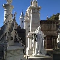 Photo taken at La Recoleta Cemetery by Chats C. on 3/17/2012