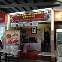 Photo taken at Mee Goreng Sotong Powerrr by Kirul N. on 4/15/2012