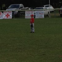 Photo taken at Little League Field by Thomas B. on 6/1/2012
