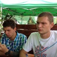 "Photo taken at Ресторан ""Лето"" by Milena on 8/4/2012"